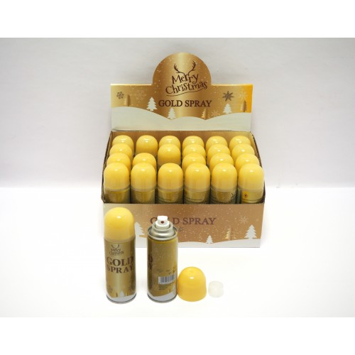 Bottiglia decorativa color oro 160ml. in display
